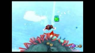 Super Mario Galaxy 2 Wii - Star Shine Beach - Surf,