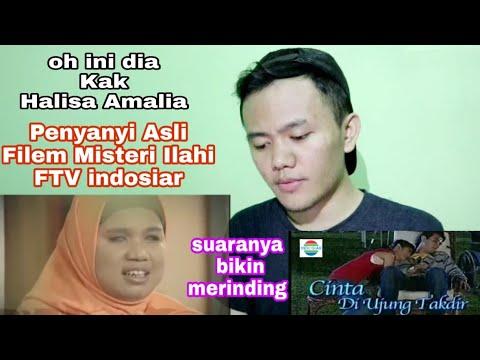Halisa Amalia - Penyanyi Asli Filem Misteri Ilahi FTV Indosiar