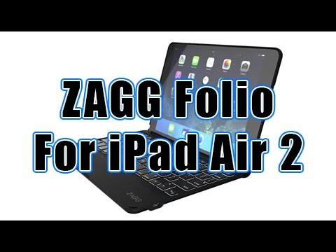 ZAGG Folio Keyboard Case for iPad Air2 - Review