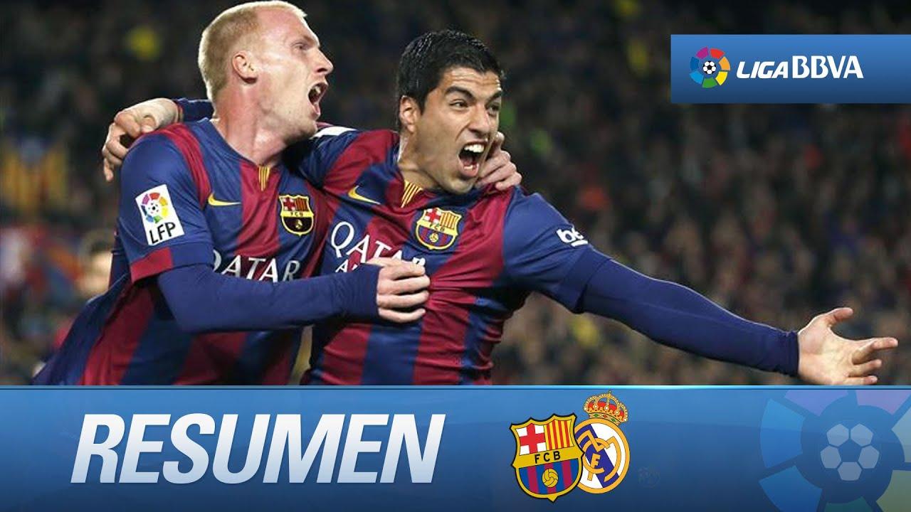 Resumen de FC Barcelona (2-1) Real Madrid - YouTube 157e5bd690cc5