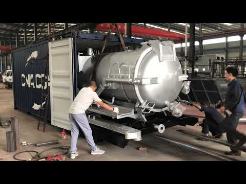 How to ship Vacuum Sewage Suction Truck super structure to Philippines?