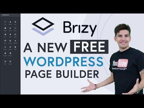 Brizy – A NEW Free WordPress Page Builder! – Brizy Review