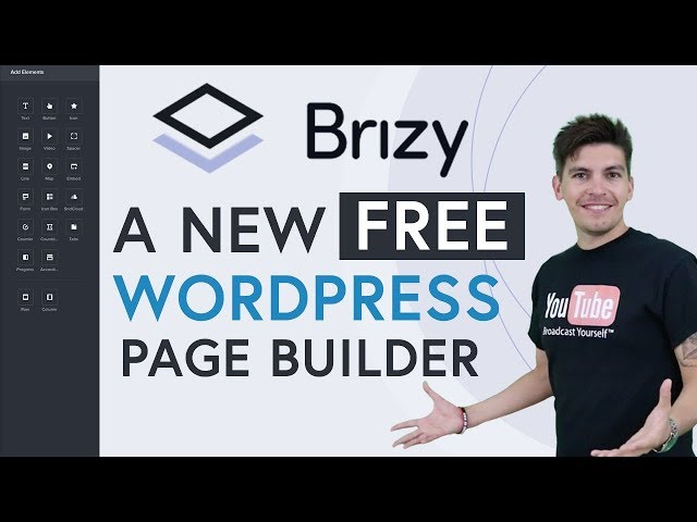 Brizy Review - A NEW Free Wordpress Page Builder! - Brizy