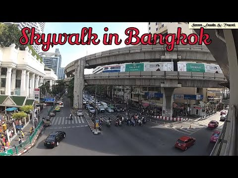 Bangkok Skywalk | Walking from Siam Paragon to CentralWorld | Trip to Bangkok #16
