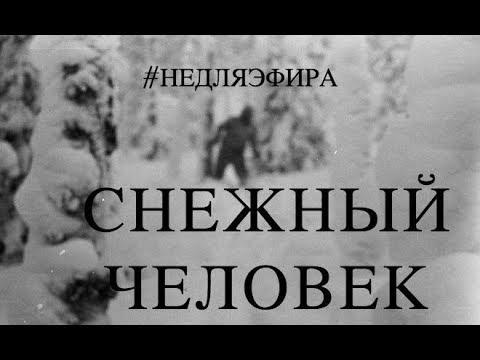 Снежный человек на Перевале Дятлова