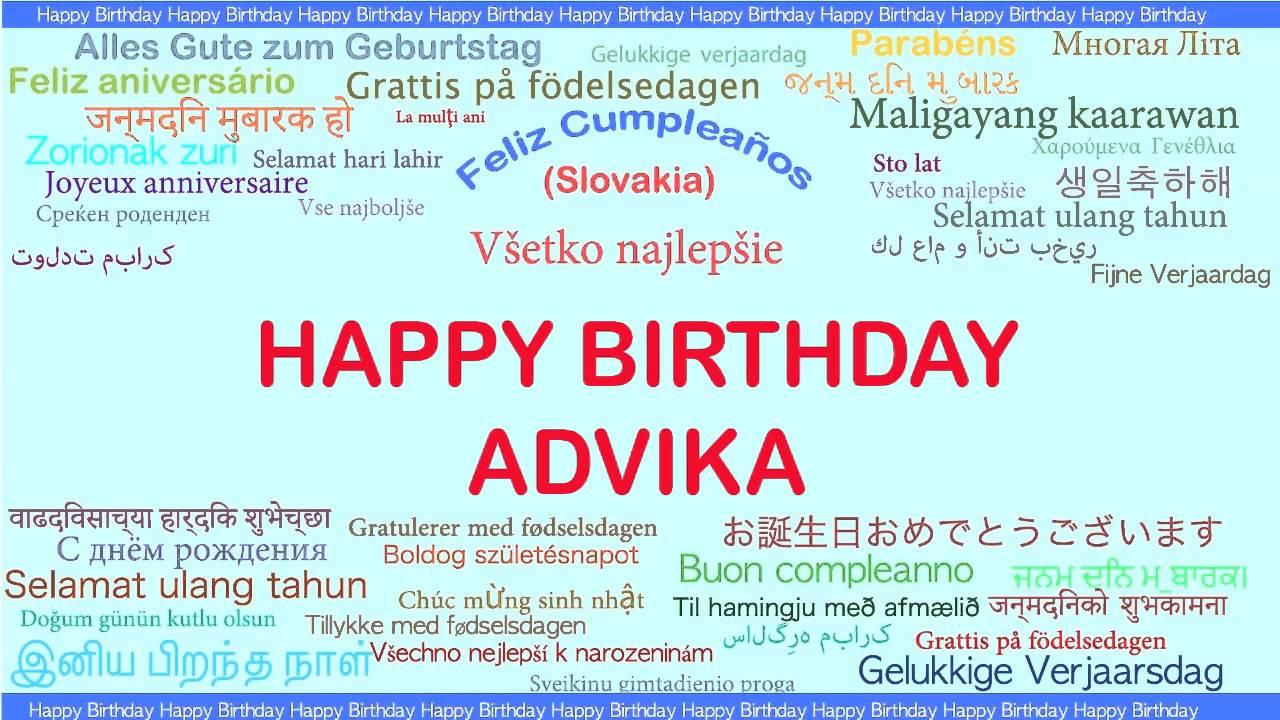grattis på födelsedagen meaning Advika Languages Idiomas   Happy Birthday   YouTube grattis på födelsedagen meaning