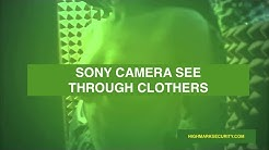 See Through Camera ❣️ 100% Fact ❣️ Sony Camera Through Clothes Bought 700000