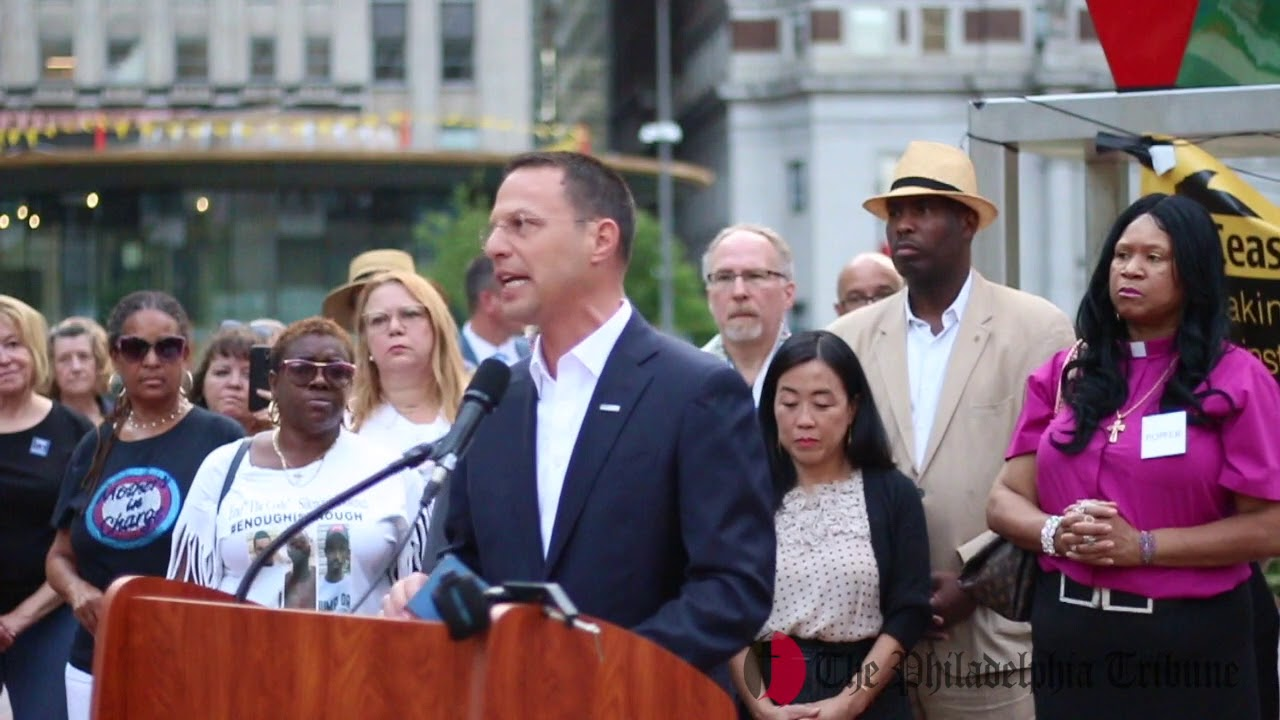 Philly Community Organizations & Elected Officials Gather To End Gun  Violence