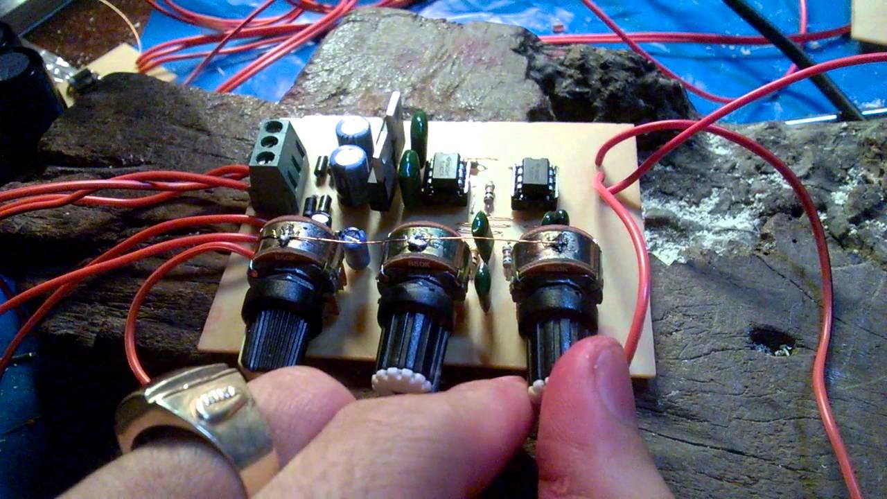 mạch âm sắc dùng opamp TL082 bass bùm bùm