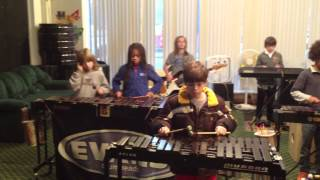 Louisville Leopard Percussionists - Crazy Train