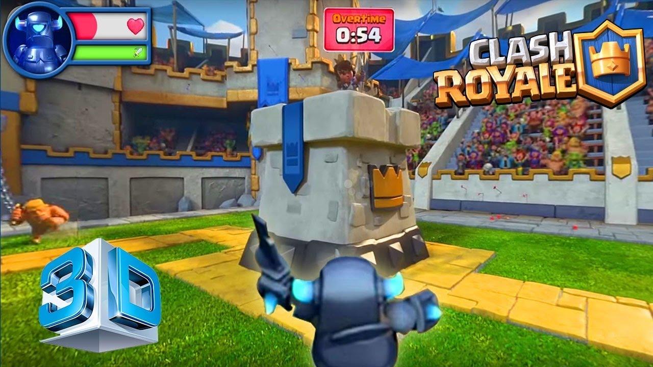 Clash Royal 3D