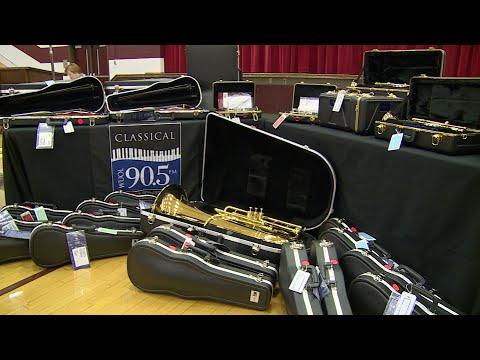 Doss High School -- Musical Instrument Donation