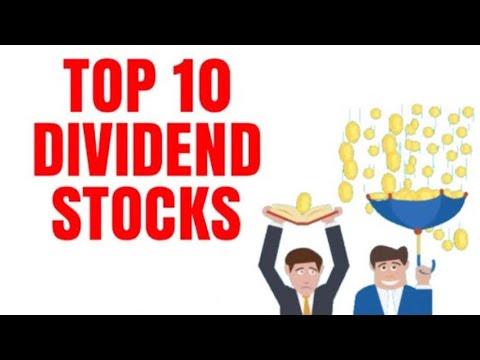 TOP 10 PAYING DIVIDEND STOCKS UK London Stock Exchange