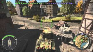 World of Tanks Xbox 360 Edition || KV-2 Gameplay