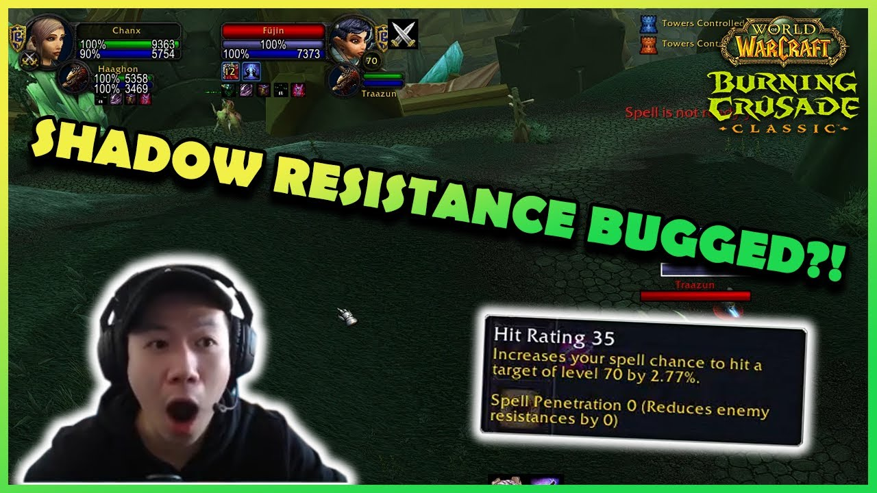 SHADOW RESISTANCE BUGGED?! | Daily Classic WoW Highlights #140 |