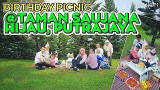 [ omaralattas ] vlog #104-2018: Picnic Birthday Party @Taman Saujana Hijau, Putrajaya
