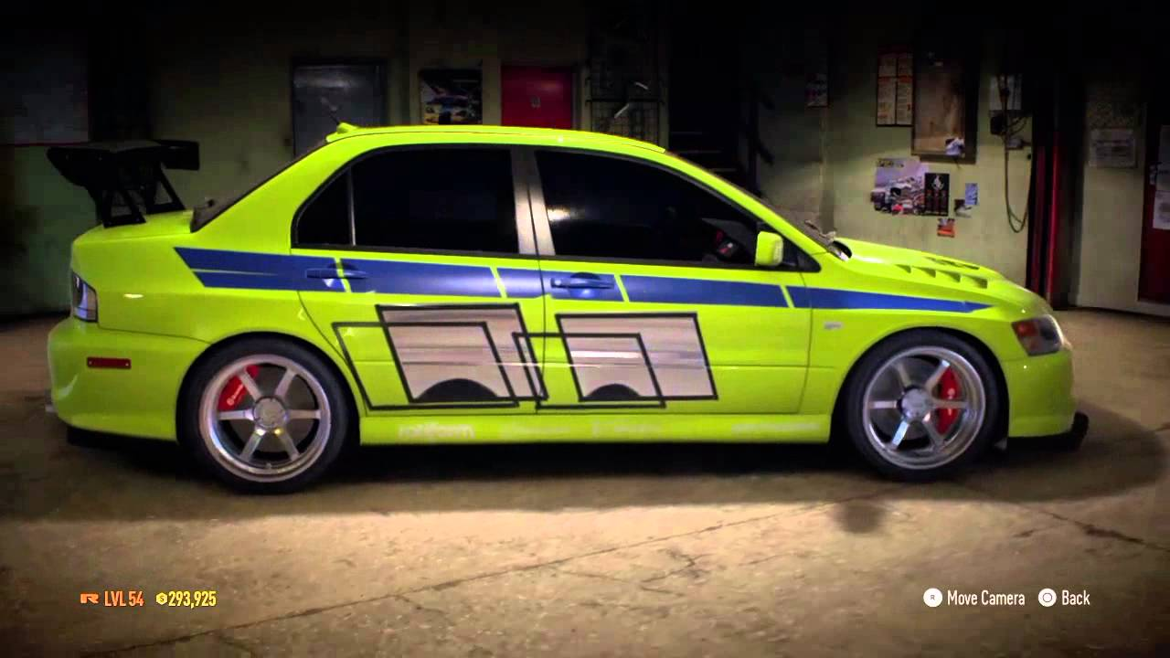 Need for speed 2015 | paul walker's evo fron 2 fast 2 ...