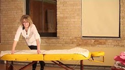 Getting Started with Massage Therapy Part 5 Setting Up Massage Table Sheets