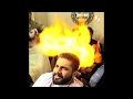 Cutting Hair with Fire Amazing Hair Cut New Style you never seen before