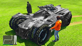 Stealing The BATMOBILE From Batman in GTA 5 RP!