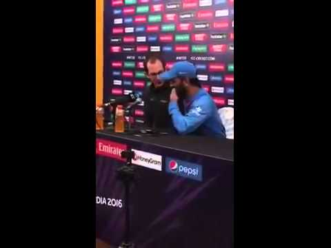 Dhoni slapped on reporter: India vs West indies post match press conference