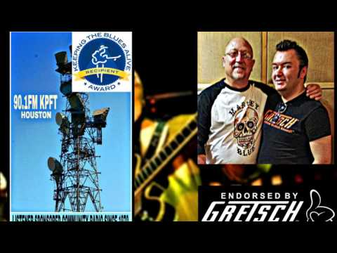 "Ruzz Guitar Interview on ""Howlin' The Blues"" 90.1FM KPFT in Houston Texas"
