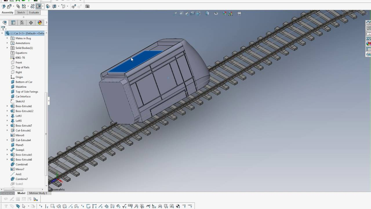 Define motion study - Solidworks Bug Animator Motion Study And Path Mate