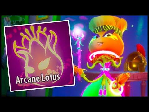 Arcane Lotus Buff! Plants vs Zombies Garden Warfare 2