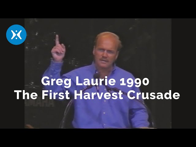 Harvest Crusade 1990 The First Ever (With Greg Laurie)
