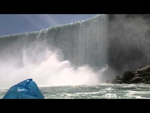 Niagara Falls State Park - Horseshoe Falls From Maid of the Mist Tour Boat