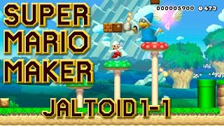 Gambar cover OG MARIO WITH A TWIST! Another JALTOID Level!! | SUPER MARIO MAKER