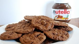 Quick And Easy - Nutella Cookies