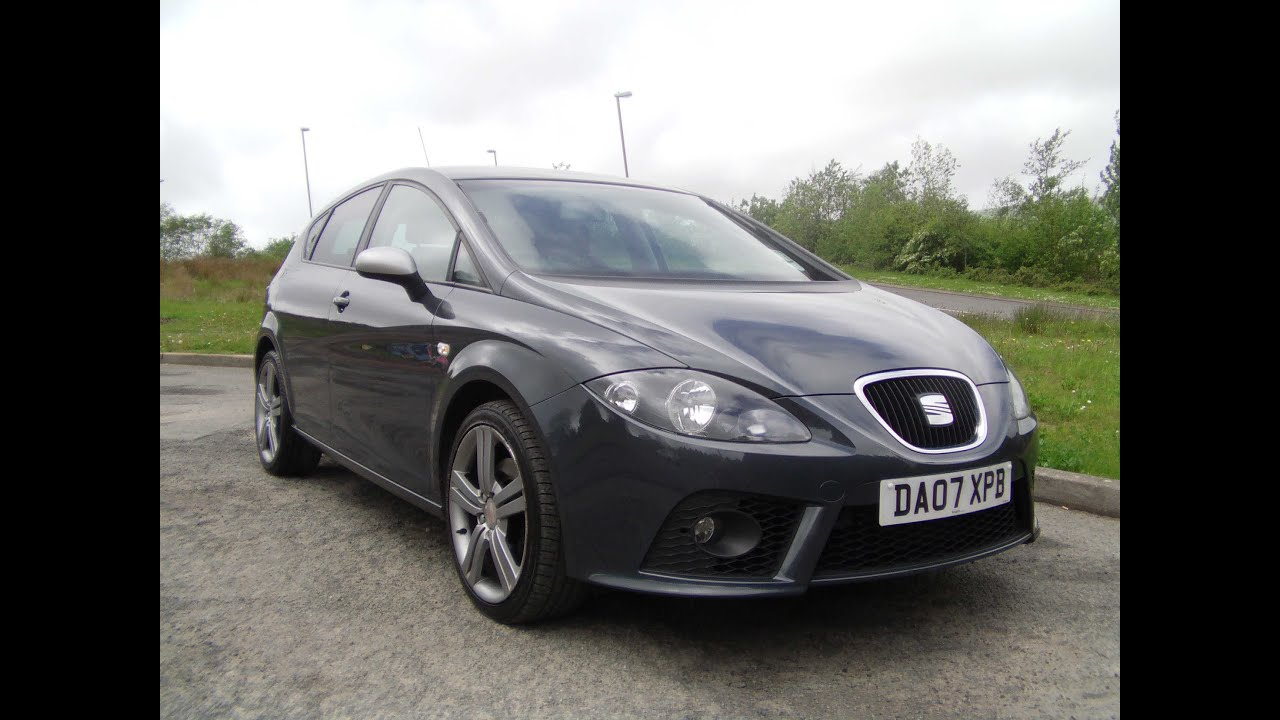 2007 seat leon fr 2 0 tdi 170 just 51k fsh 7 495 youtube. Black Bedroom Furniture Sets. Home Design Ideas