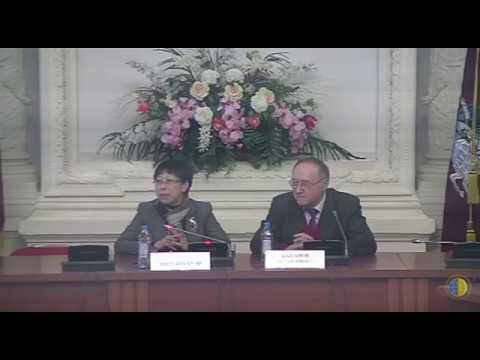 Молодые дипломаты Китая в Дипломатической академии МИД России 23 января 2019 г.