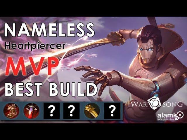 Nameless Best Item Build