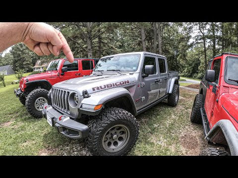 Starting The Jeep Gladiator Build! -  Bring On The MODS!