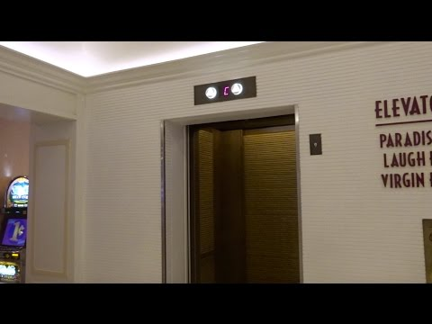 Beautiful Otis Elevators - Tropicana Paradise Tower - Las Vegas, Nevada