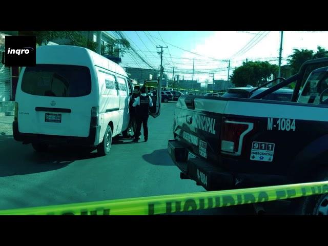 Movilización por doble homicidio en Colinas de Santa Cruz