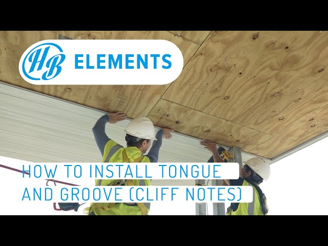 Tongue & Groove Cliff Notes*