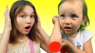 Boo Boo Canción   Canciones Infantiles con Alex y Nastya