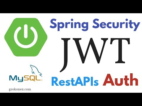 Spring Security JWT Authentication – RestAPIs SpringBoot +