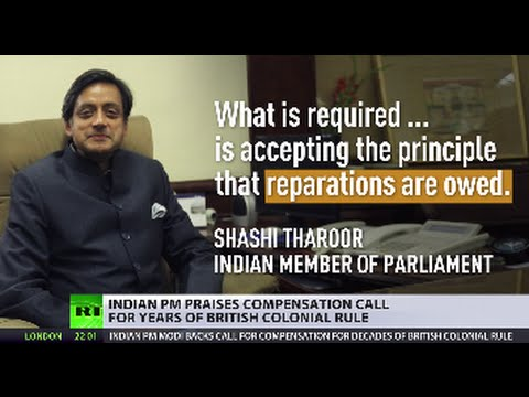 India PM backs calls for UK to pay reparations for colonial-era damage