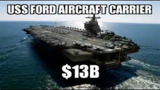 Breaking USA NAVY 21st Century MEGA NUCLEAR Aircraft Carrier USS Gerald Ford May 2016 News