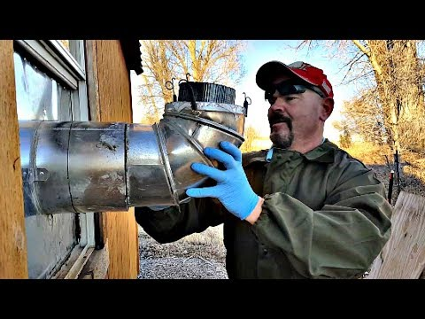 Installing an Aircrete Chimney No Problem!