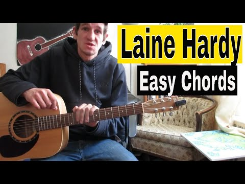 How To Play Laine Hardy 'Flame' - Guitar Lesson (easy Beginner Tutorial)