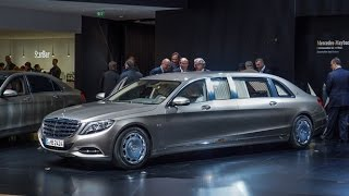 Mercedes-Maybach S600 Pullman - 2015 Geneva Motor Show