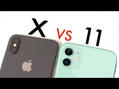 Iphone 11 Vs Iphone X Quick Comparison Youtube