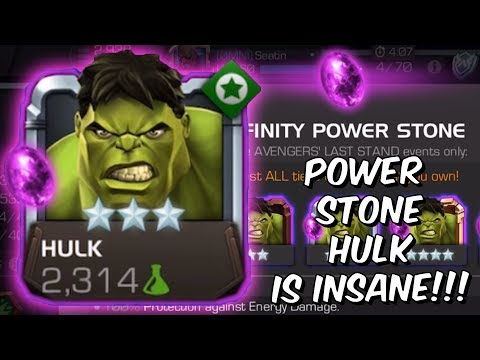Power Stone Hulk is INSANELY Overpowered!! - Epic Save The Battlerealm - Marvel Contest of Champions