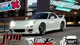 [Need For Speed Underground 2] Mazda RX-7 Tuning Setting & Drifting