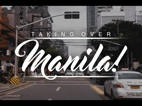 TAKING OVER MANILA - Travel Vlog  | Mr.Aries